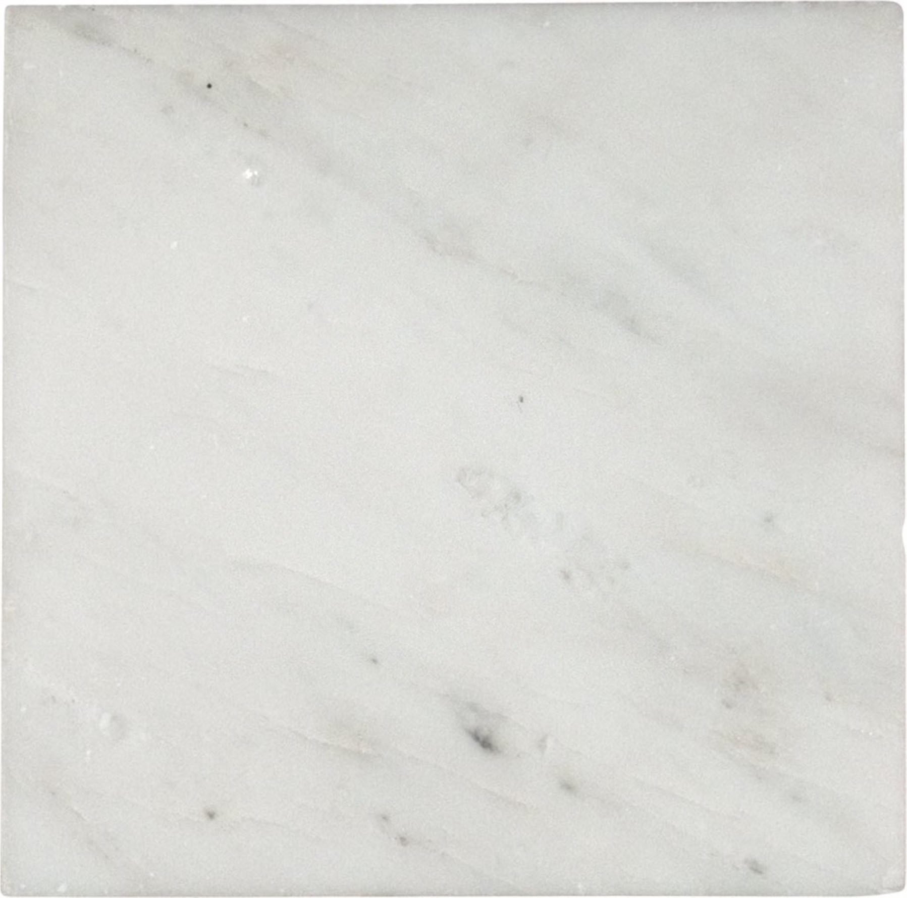 Arabescato Carrara 6x6 Honed Marble Floor and Wall Tiles