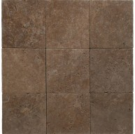 Noce 12X12 Tumbled Travertine Pavers Tile for Driveway, Patio and Pool Deck