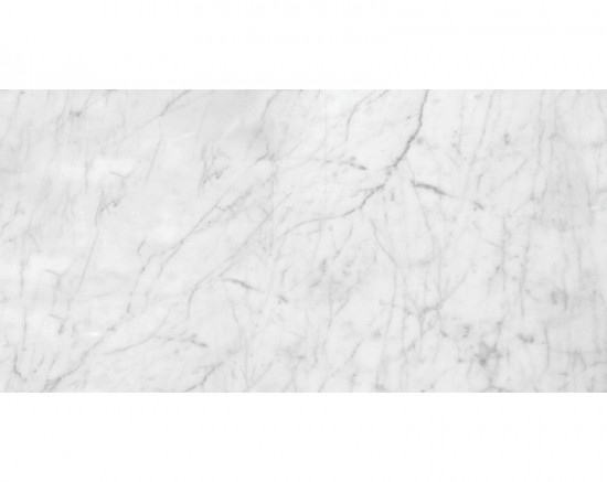 Bianco White Carrara Marble Honed 12x24 Floor and Wall Tile