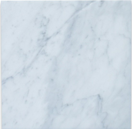 Carrara White 12x12 Tile Polished - Marble from Italy