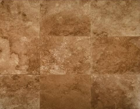 12x12 Tuscany Noce Honed Filled Square Travertine Flooring Tile