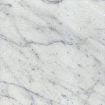 Bianco White Carrara Marble Honed 18x18 Floor And Wall Tile