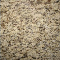 Amber Yellow Granite 12 in. x 12 in. Polished Tile