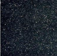 Black Galaxy Granite Classic 12 x 12 Polished Floor Tile