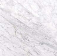 Carrara White 12 in. x 12 in. x 10 mm Thick Honed Marble Tile | Wall | Floor | Bathroom | Kitchen | Shower | Entryway | Countertop