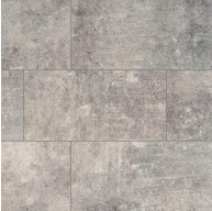 Cemento Treviso 12 in. x 24 in. Matte Grey Glazed Porcelain Floor and Wall Tile | Backsplash | Bathroom | Kitchen | Shower | Fireplace | Countertop