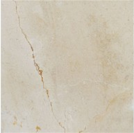Spanish Crema Marfil 24 in. x 24 in. Select Polished Marble Tile (Each Tile is 4 Sqft.)