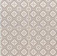 5.2x5.2 Kenzzi Leira Square Beige Ceramic Glossy Wall Tile
