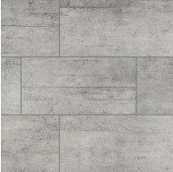 Cemento Novara 12 in. x 24 in. Matte Grey Glazed Porcelain Floor and Wall Tile | Backsplash | Bathroom | Kitchen | Shower | Fireplace | Countertop