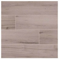 6 in. x 36 in. Palmetto Fog Glazed Matte Porcelain Floor and Wall Tile