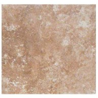 Travertino Walnut 6 in. x 6 in. Glazed  Matte Porcelain Floor and Wall Tile (11 sq. ft. / case)