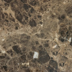 12 in. x 12 in. Spanish Dark Emperador Polished Marble Floor and Wall Tile