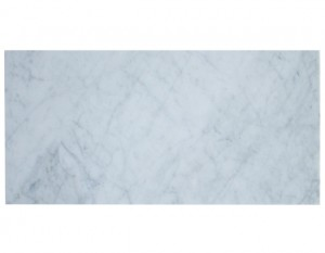 Arabescato White Carrara Marble Honed 12x24 Floor and Wall Tile