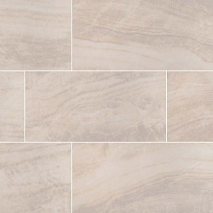 12x24 Praia Crema Matte Porcelain Wall & Floor Tile (Sold by Box of 16 Sqft.)