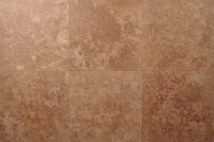 Noce Premium Travertine Turkey  Honed  12×12 Tiles