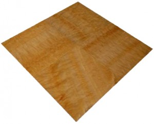 18 in. x 18 in. Premium Select Honey Onyx Solid Polished Tile