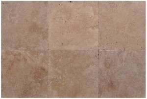 Travertine Caffe Light  24×24 Tumbled Tile