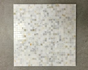3/8 in. x 3/8 in. Calacatta Gold Polished Marble Mosaic Tile | Wall | Backsplash | Bathroom | Kitchen | Shower