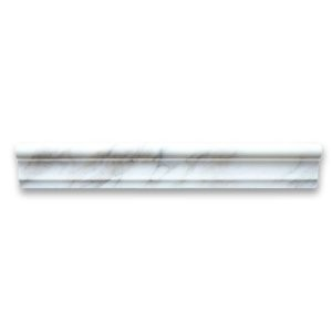 Calacatta Gold 2x12 Chair Rail Trim Molding Polished - Marble from Italy