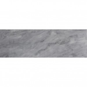 4x12 Bardiglio Nuvolato Grey Marble Honed Subway Tile