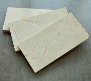 3 in. x 6 in. Crema Marfil Subway Polished Marble Tile | Wall | Backsplash | Bathroom | Kitchen | Shower | Natural Stone