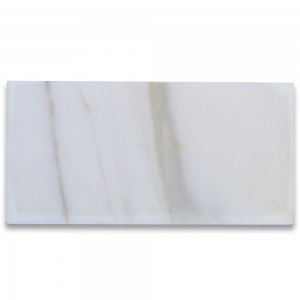 3x6 Calacatta Gold Subway Tile Polished | Marble from Italy | Wall | Backsplash | Shower | Bathroom | Kitchen