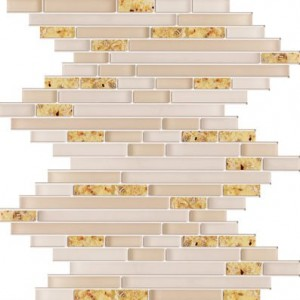 Zen Mother of Pearl Glass Mosaic Tile