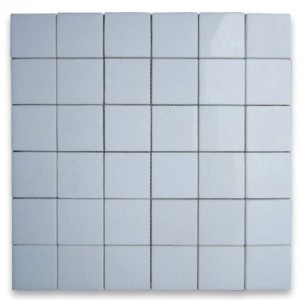 Thassos White 2x2 Square Polished Mosaic Tile