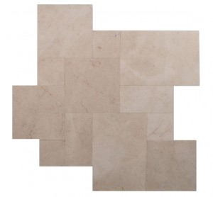Crema Bella Turkey Marble 18×18 Straight Edge Tile