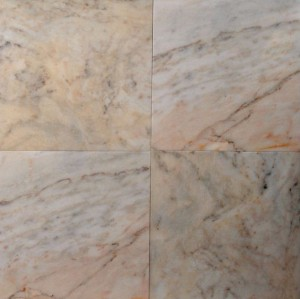 Bianco Venato Oro Turkey Marble 18×18  Polished Tile