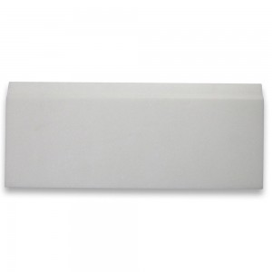 Thassos White 5x12 Baseboard Trim Molding Honed Marble