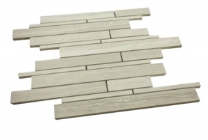 Wooden Grey Random Brick Tiles