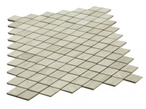 Wooden Gray Diamond Shape Tile