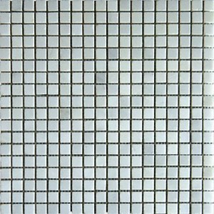 Arabescato White Marble Honed 5/8 x 5/8 Mosaic Tiles
