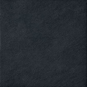 "18"" x 18"" Atlas Zone Black Square Porcelain Tile For Bathroom and Kitchen Flooring"