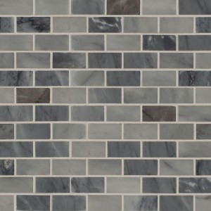 Carrara Classique Brick 1 in. x 2 in. Honed Marble Mosaic Tile | Wall | Floor | Bathroom | Kitchen | Shower | Residential Countertop