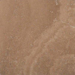 12 in. x 12 in. Caramel Honed & Filled Travertine Floor & Wall Tile