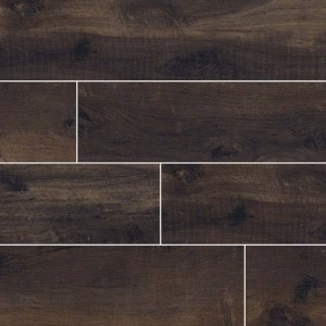 Country River Bark Brown Matte 6 in. x 36 in. Glazed Porcelain Floor and Wall Tile | Backsplash | Bathroom | Kitchen | Shower | Fireplace | Countertop