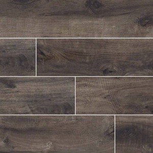 Country River Moss Brown Matte 6 in. x 36 in. Glazed Porcelain Floor and Wall Tile | Backsplash | Bathroom | Kitchen | Shower | Fireplace | Countertop