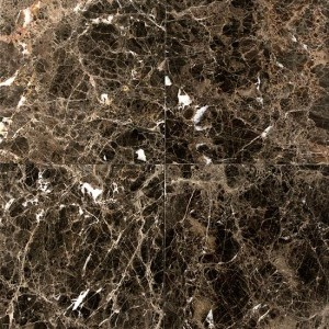 Emperador Dark Brown Marble 18x18 Polished Tile