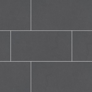 Dimensions Graphite 24 in. x 48 in. Grey-Dark Glazed Porcelain Matte Floor and Wall Tile | Backsplash | Bathroom | Kitchen | Shower | Fireplace | Countertop