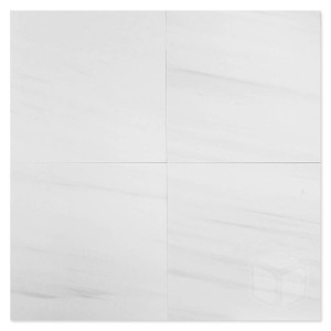 Dolomite 12 in. x 12 in. Polished Marble Floor & Wall Tile