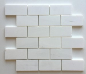 2 in. x 4 in. Dolomite Polished Marble Floor & Wall Tile