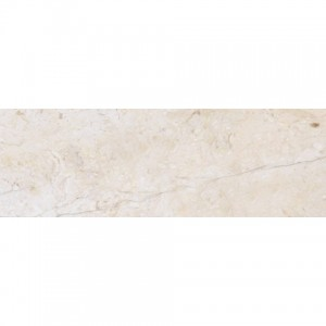 4x12 Beige Crema Marfil Marble Honed Subway Tile