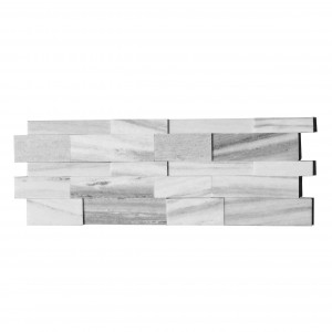 3D Palisandro Marble Honed 6x24 Ledger Wall Panels