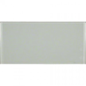 Broadway Arctic Ice 6 in. x 12 in. Glass Mosaic Tile