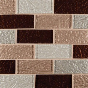 Broadway  2x4 Ayres Blend Glass Mosaic Tile