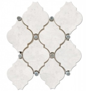 Masterpiece Glacier Blend Cathedral Polished Mosaic Tile by Soci