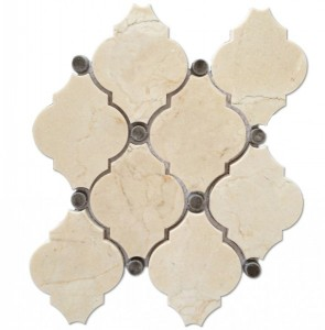 Masterpiece Bristol Blend Catherdral Polished Mosaic Tile by Soci