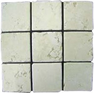 Bianco Perlino Tumbled 4x4